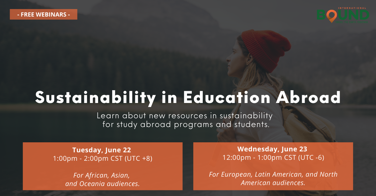 Sustainability in Education Abroad